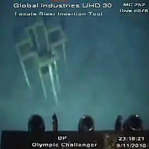 Underwater object